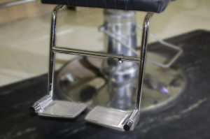 barber chair footrest | Rose Pedal Salon Footrest