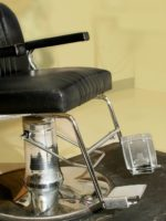 barber chair for elderly and handicapped | Rose Pedals Salon Chair Footrest