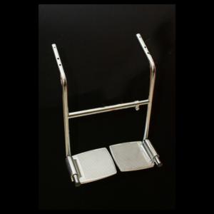 handicapped salon chair   rose pedals salon chair footrest