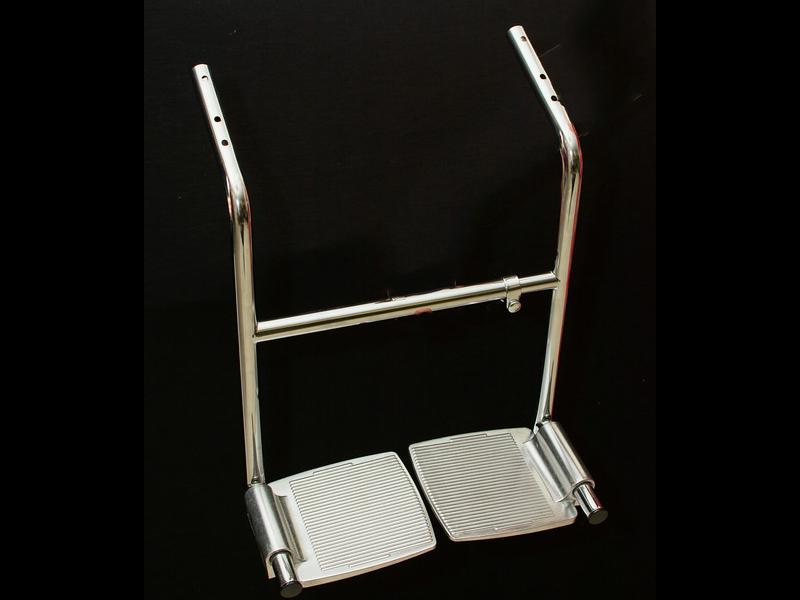 handicapped salon chair | rose pedals salon chair footrest